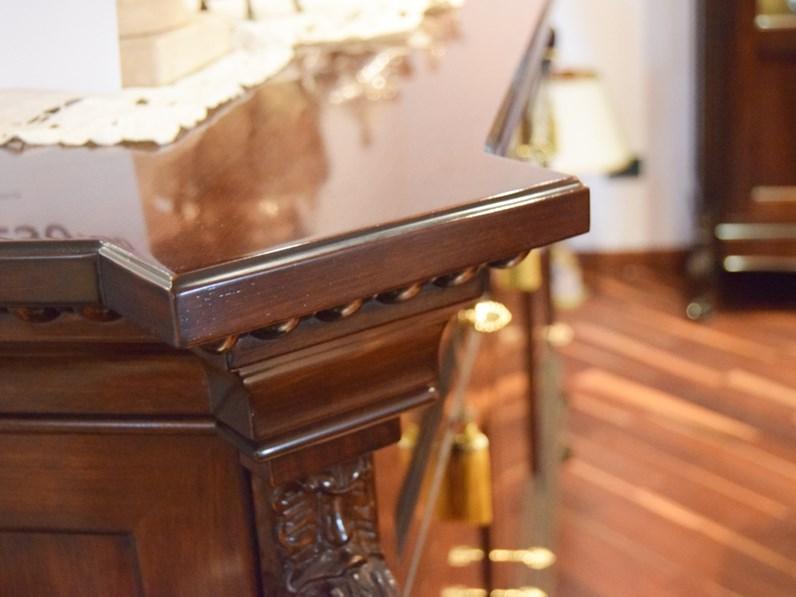 Soggiorno completo in stile classico Artigianale in legno Offerta Outlet