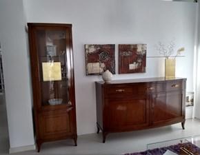 Soggiorno completo in stile classico Le fablier in legno Offerta Outlet