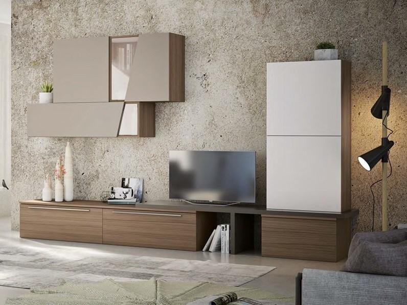 Soggiorno completo in vetro stile design Soggiorno 2020 ...