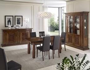 Soggiorno completo le fablier in legno le fablier a prezzo for Mobili sala da pranzo moderni