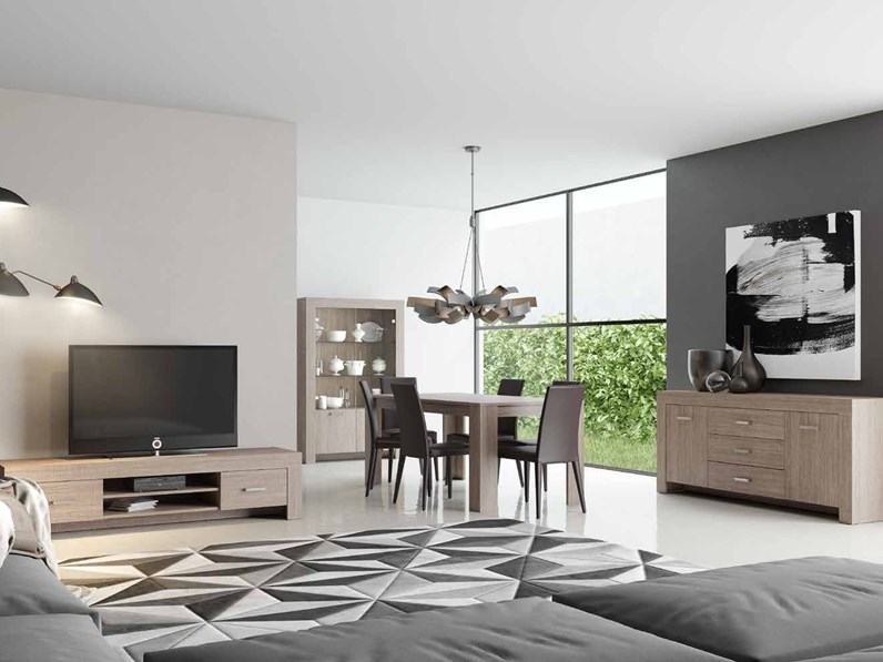 soggiorno completo stile moderno modello max olmo eclisse