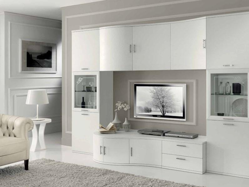 Mobile Soggiorno Componibile Bianco – Home Decor