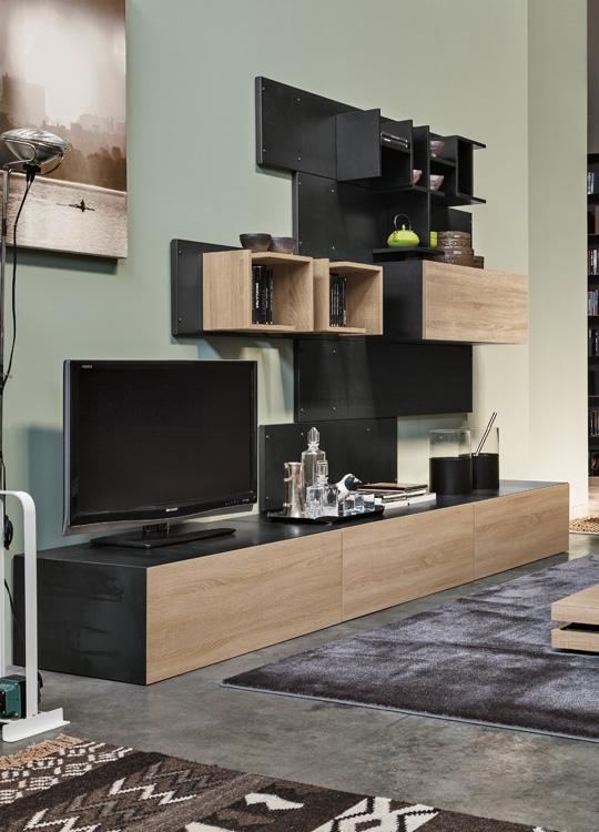 Soggiorno componibile porta tv modello iron ronda for Modulo per permesso di soggiorno
