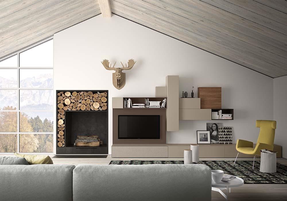 Mobili soggiorno classico moderno arredamento per il - Mobili per soggiorno moderni ...
