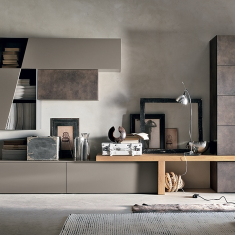 Soggiorno composizione a002 di tomasella in offerta outlet - Mobili soggiorno moderni outlet ...