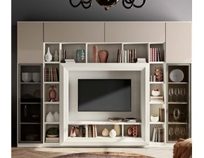 Porta Tv Con Cornice. Pannello Porta Tv Con Elemento Tech Cassettoni ...