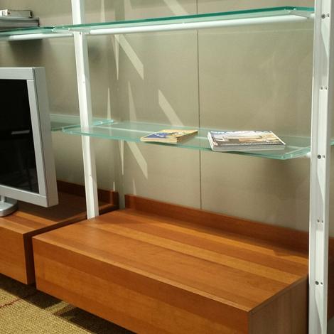 Soggiorno desalto armida legno librerie design   soggiorni a ...