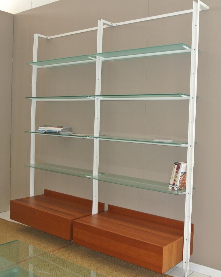 Soggiorno desalto armida legno librerie design soggiorni - Librerie arredo design ...