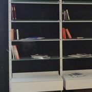 Soggiorno Desalto Libreria Vetro Librerie Moderno