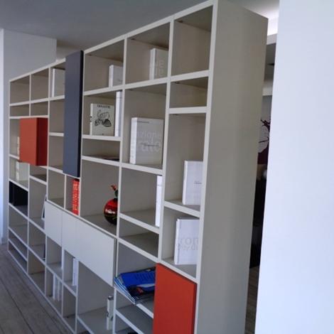 Soggiorno Doimo CityLine Libreria bifacciale over laminato ...