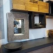 mobile soggiorno moderno  in legno e bambu in offerta