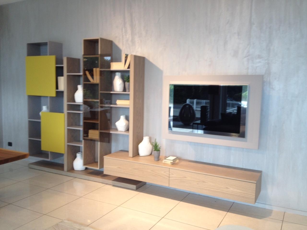 Soggiorno Fimar completo di porta TV orientabile - Soggiorni a prezzi scontati