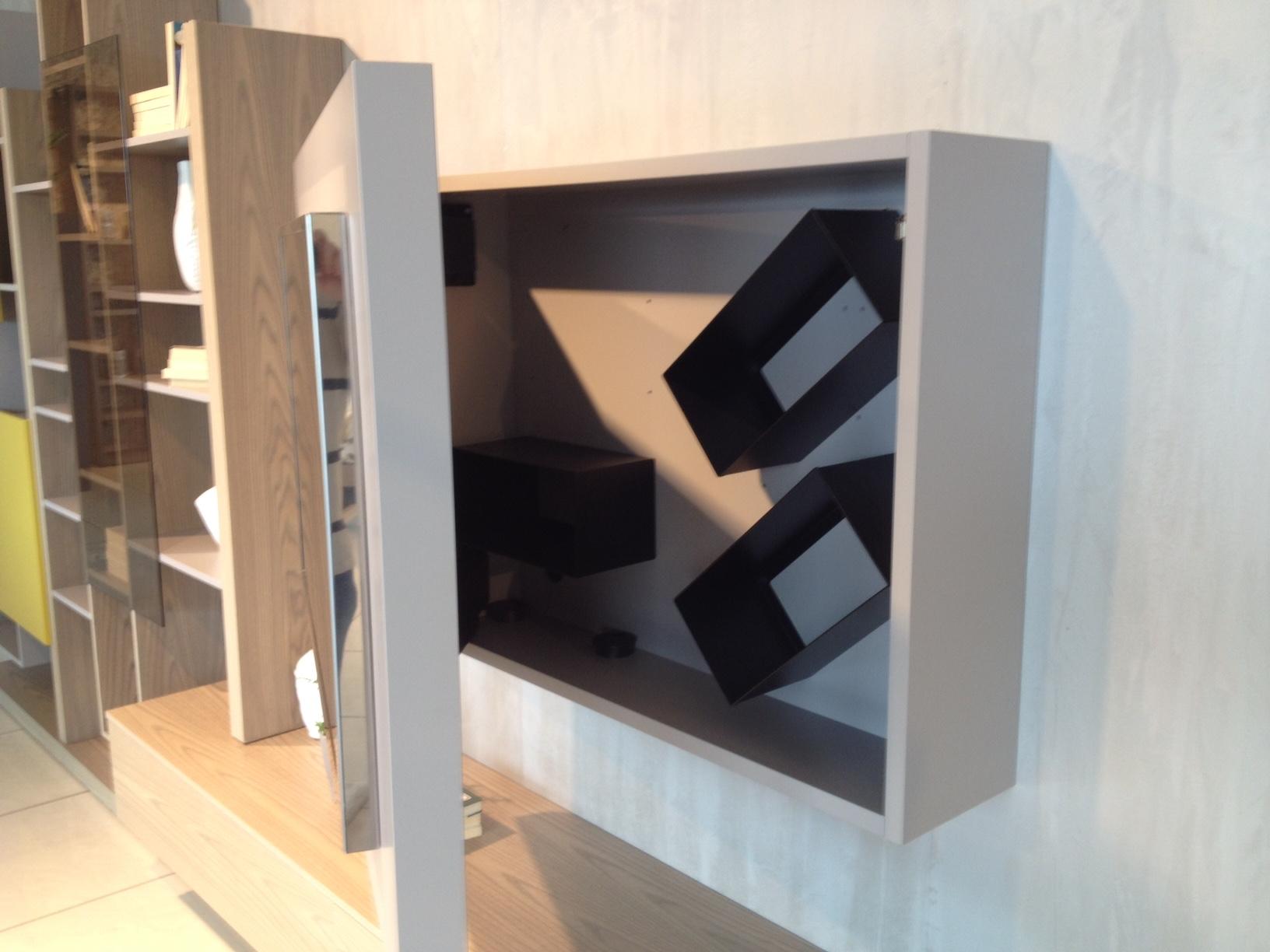 soggiorno fimar completo di porta tv orientabile - soggiorni a ... - Soggiorno Fimar 2