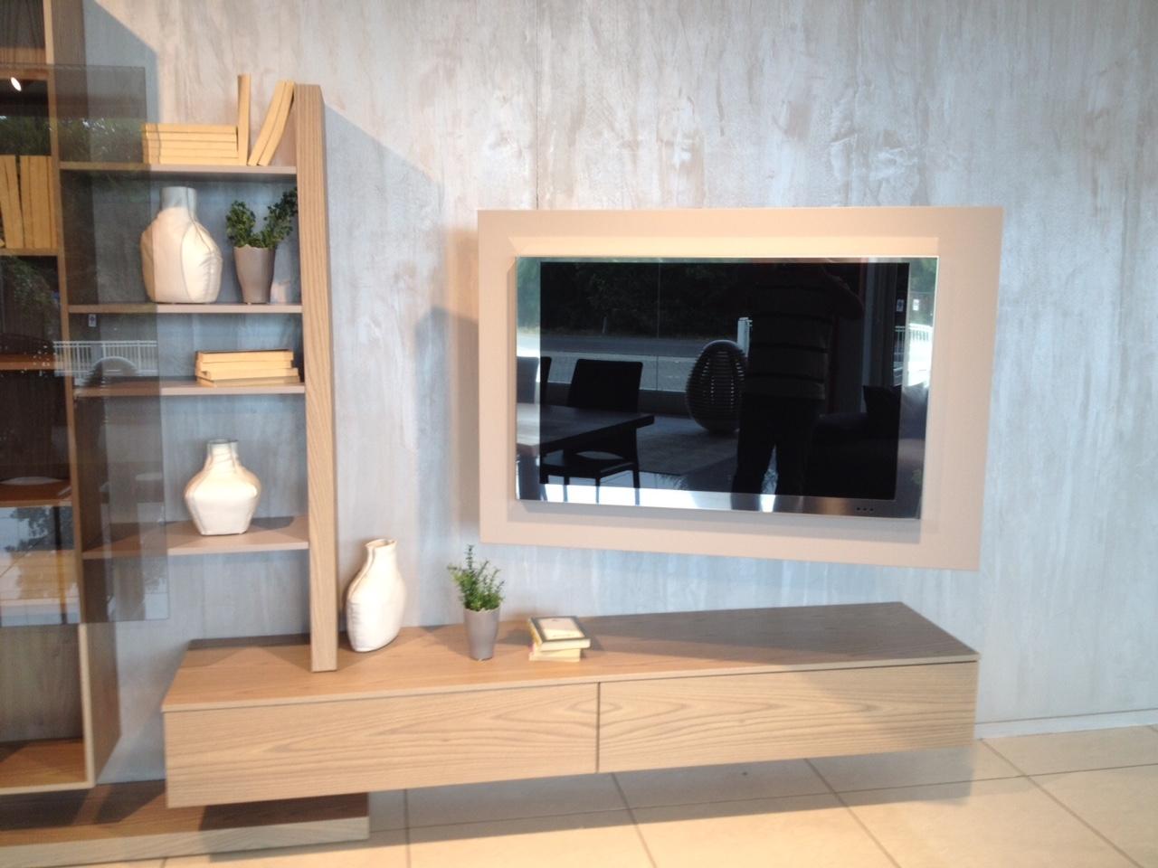 Soggiorno Fimar completo di porta TV orientabile - Soggiorni a ...