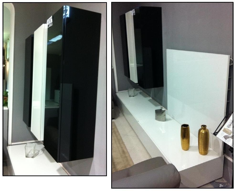 soggiorno format bianco e nero - soggiorni a prezzi scontati - Mobili Soggiorno Bianco E Nero 2