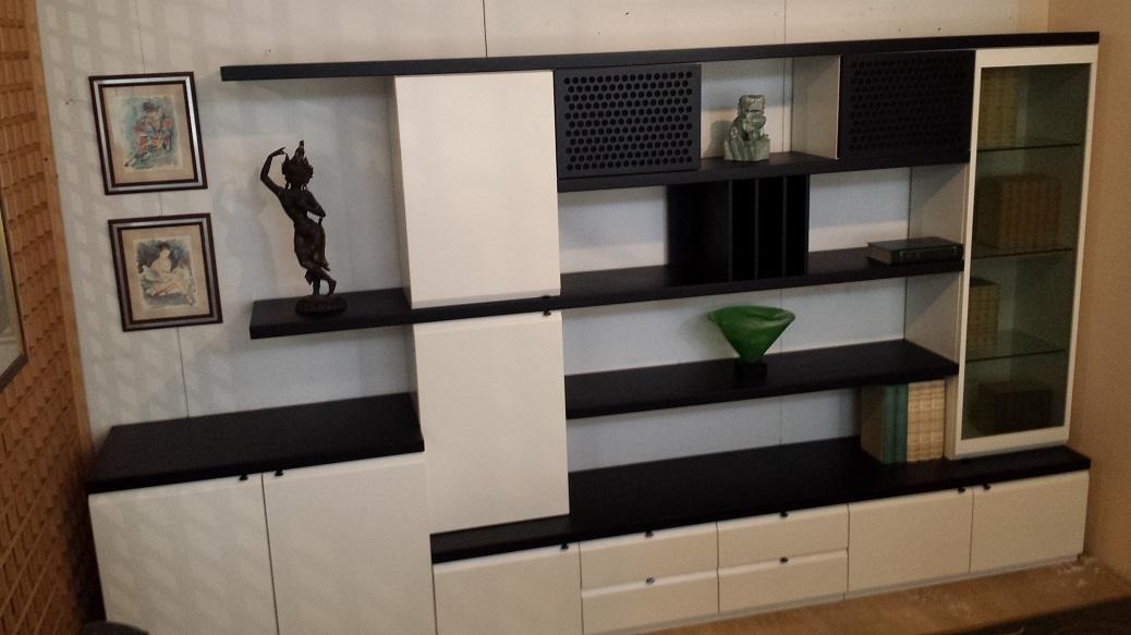 vetrine per soggiorni moderni. ingrandisci immagine with vetrine ... - Soggiorno Bianco E Nero Ikea