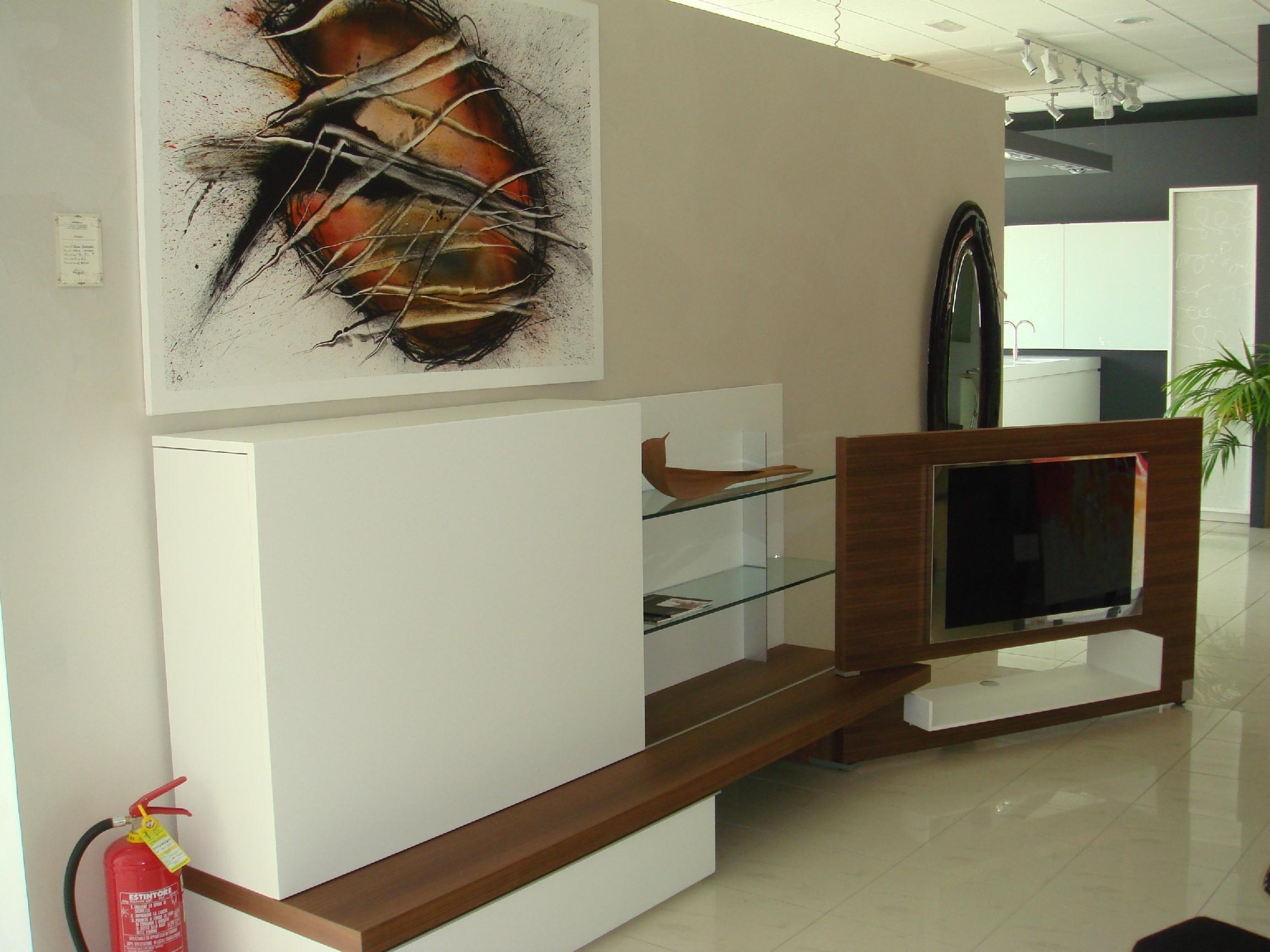 Soggiorno former plinto laccato opaco pareti attrezzate design soggiorni a prezzi scontati - Pareti attrezzate design ...