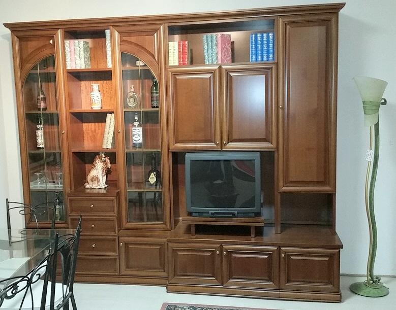 Soggiorno in legno ciliegio 33 soggiorni a prezzi for Mobili neoclassici
