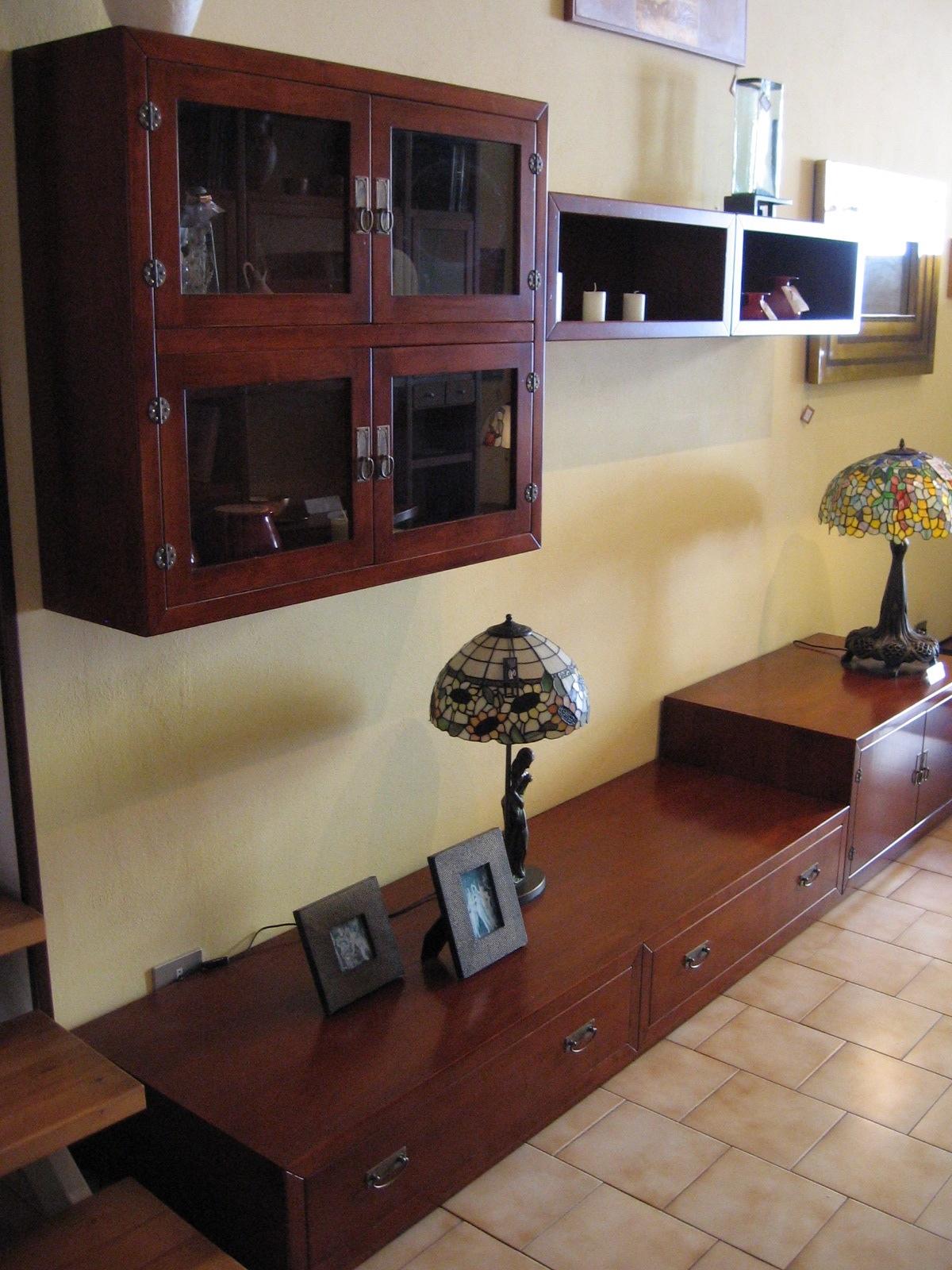 Mobile soggiorno in legno scontato del 50% - Soggiorni a prezzi scontati