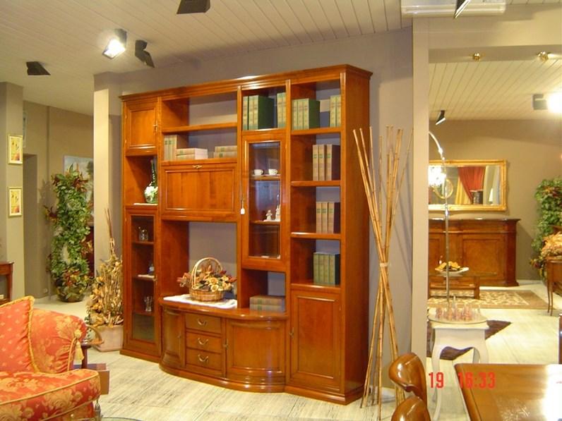 Soggiorno in legno massello di ciliegio - Soggiorni a prezzi scontati
