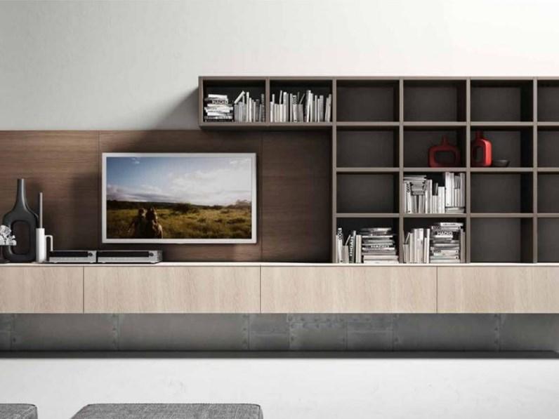 Mobili soggiorno in melaminico della ditta spagnol mobili for Ditte mobili