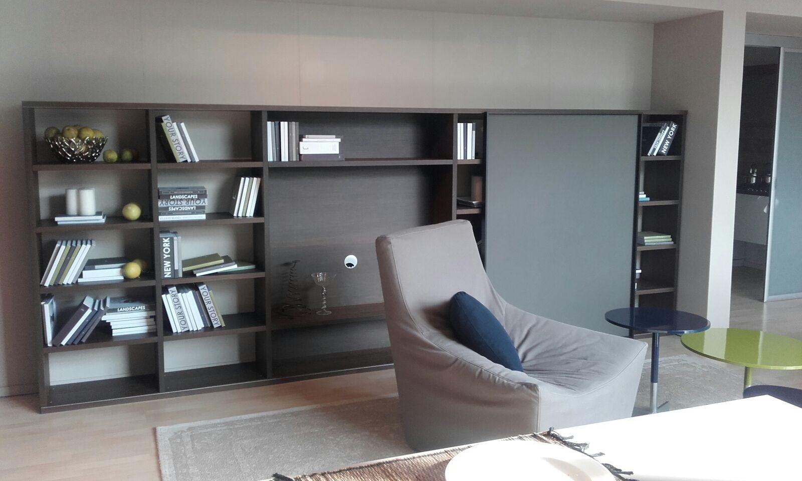 Soggiorno jesse parete libreria con vano tv soggiorni a prezzi scontati - Jesse mobili prezzi ...
