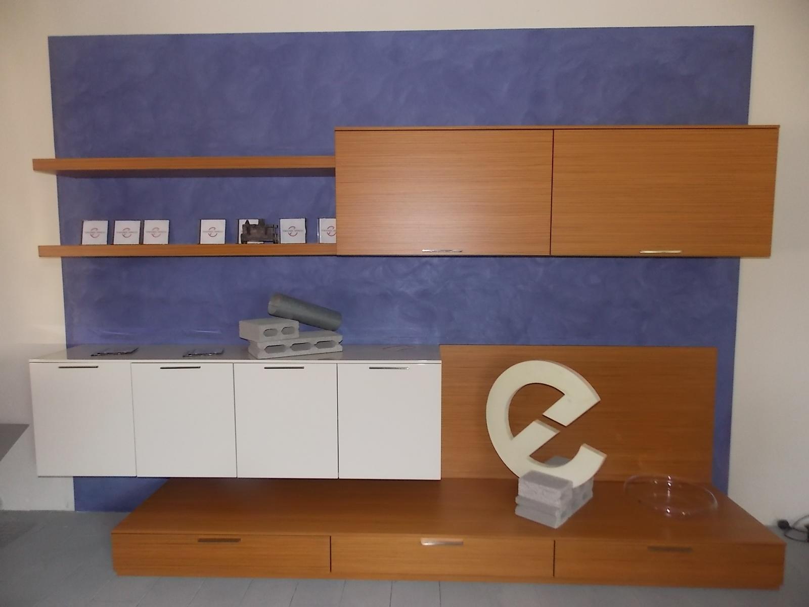 Soggiorno Doimo Design Soggiorno a parete Laccato Lucido - Soggiorni a prezzi scontati