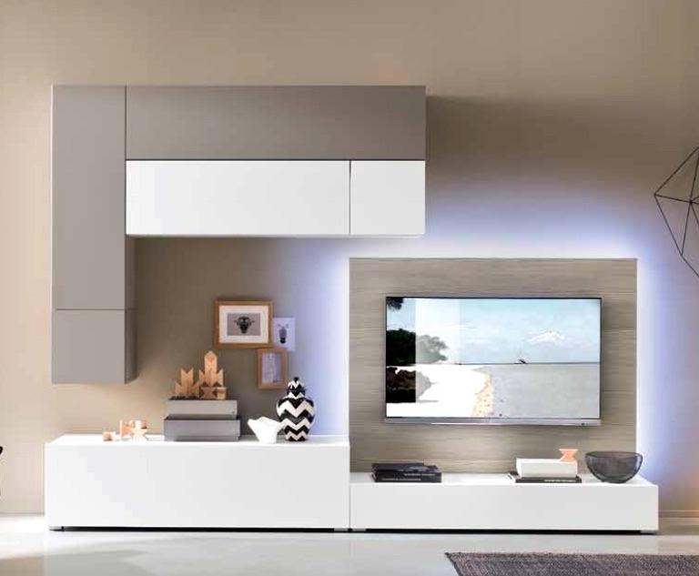 Soggiorni pareti colorate arredamento soggiorno befree for Pareti moderne colorate