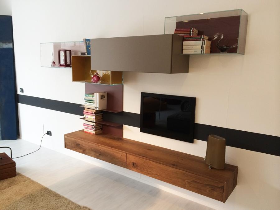 Mobili da soggiorno lago design casa creativa e mobili for Pareti attrezzate lago