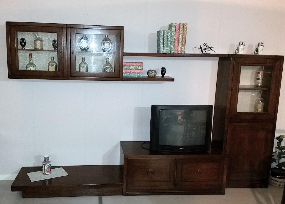 Soggiorno legno massello sottocosto soggiorni a prezzi - Mobili soggiorno legno massello ...