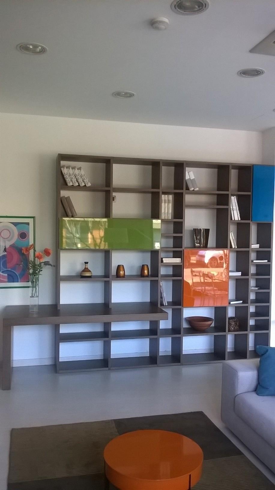 Soggiorno lema selecta legno librerie design soggiorni a for Lema soggiorni moderni