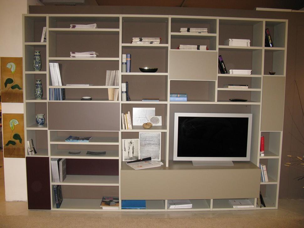 Lema soggiorno selecta scontato del 44 soggiorni a - Librerie mobili prezzi ...