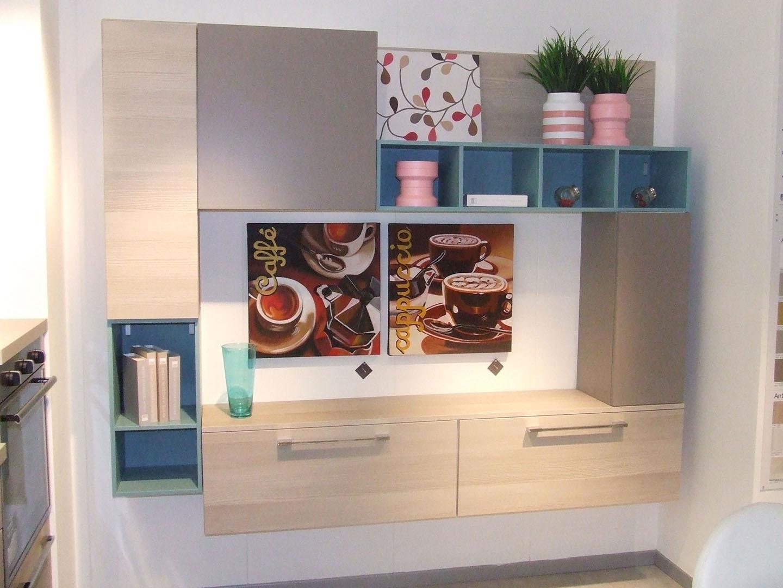 mobile tv lube : Soggiorno Lube Cucine Composizione swing scontato del -50 % ...