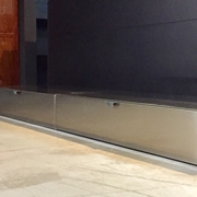 Soggiorno - Magnetica Link - Ronda Design - Inox anti impronta - Sospeso o a terra