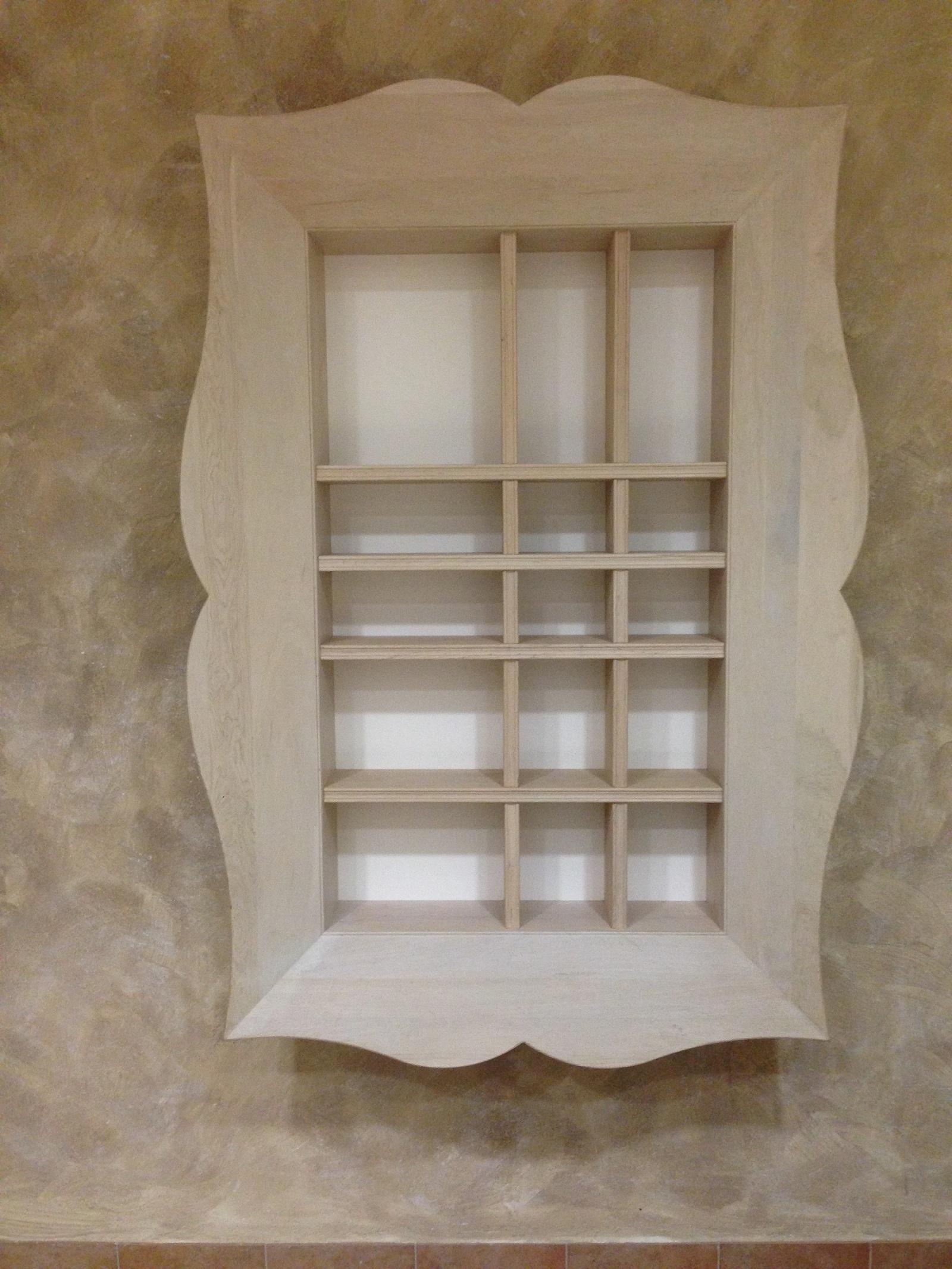 Libreria soggiorno prezzi: soggiorno libreria luce laccato bianco ...