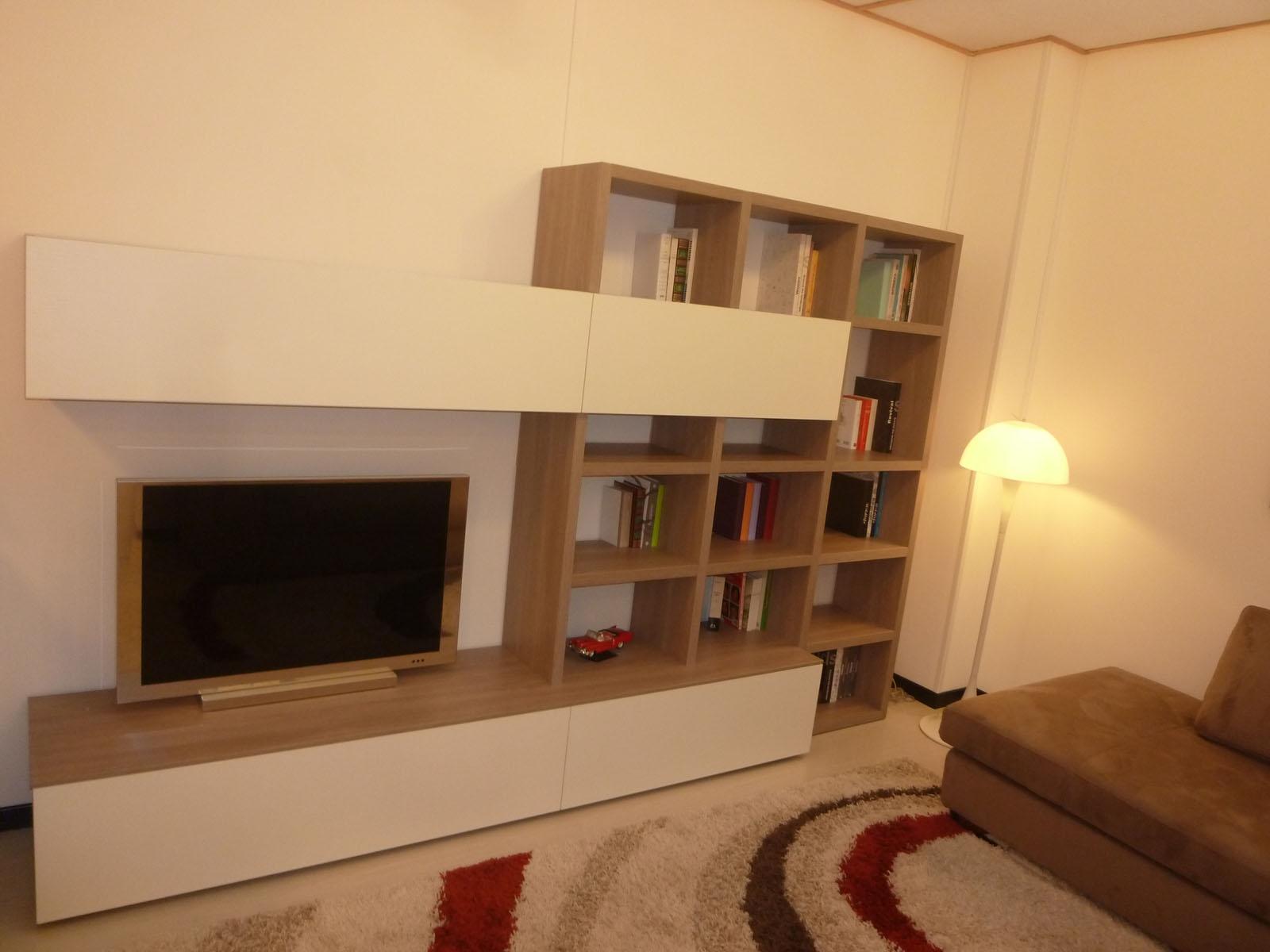 Soggiorno maronese seta pareti attrezzate soggiorni a for Pareti attrezzate soggiorno