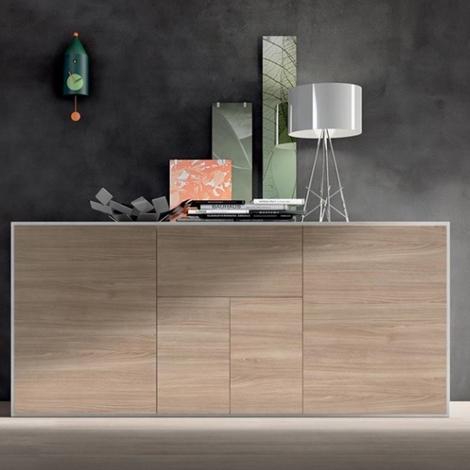 Mobile da soggiorno moderno Slim design Maronese - Soggiorni a prezzi scontati