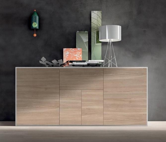 Mobile da soggiorno moderno slim design maronese for Mobile da soggiorno moderno