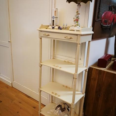 Soggiorno Miazzo Libreria etajeur in legno bianco ...