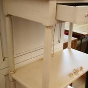 Soggiorno Miazzo Libreria etajeur in legno bianco