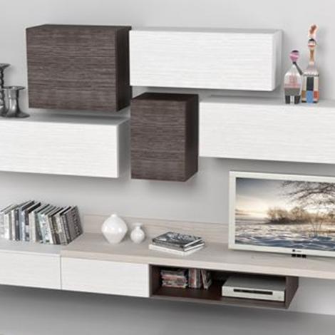 Stunning Parete Attrezzata Soggiorno Moderna Pictures - House Design ...