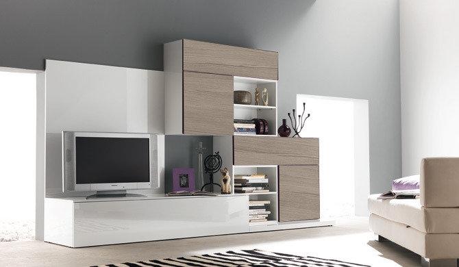 soggiorno 115 live laminato materico componibili moderno