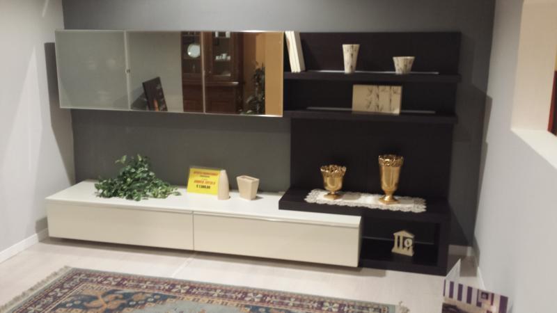 venduto soggiorno moderno alf in offerta finiture basi laccate ...