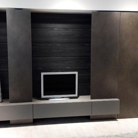 Soggiorno moderno blade modulnova parete attrezzata soggiorni a prezzi scontati - Arredamento parete soggiorno ...