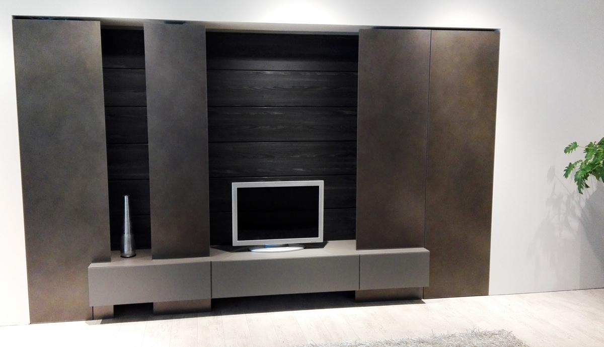 Soggiorno moderno blade modulnova parete attrezzata - Parete soggiorno moderno ...