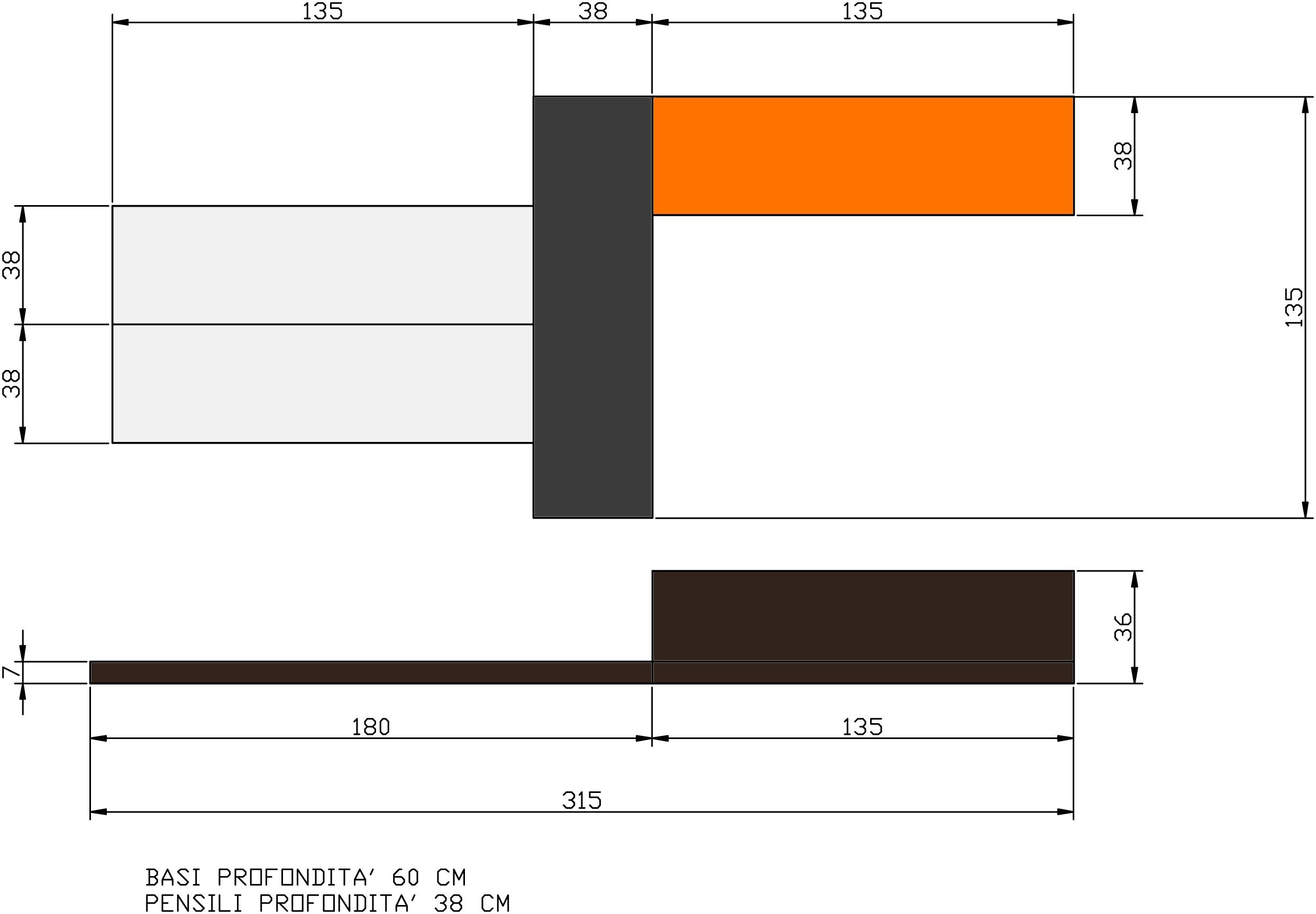 soggiorno moderno europeo modello max scontato del -60 ... - Misure Soggiorno