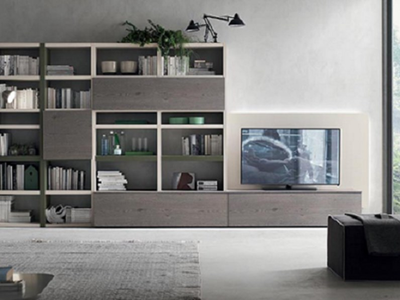 soggiorno moderno in legno in offerta - Soggiorni a prezzi scontati