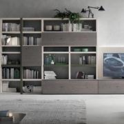 soggiorno moderno in legno in offerta