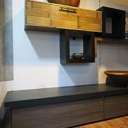 soggiorno moderno izen grey crash bambu in offerta convenienza outlet