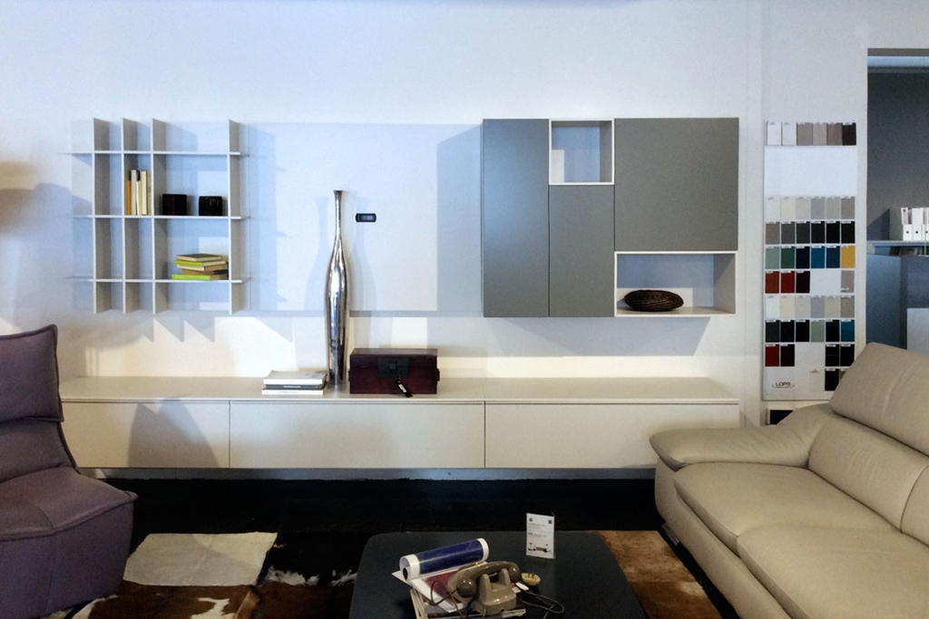 soggiorno moderno sospeso lops - soggiorni a prezzi scontati - Arredamento Soggiorno Sospeso 2